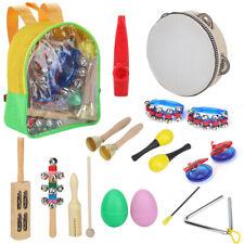 Percussion Set Kinder Kleinkind Musikinstrumente Spielzeug Band Rhythmus 15Toys