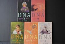 JAPAN Masakazu Katsura manga LOT: DNA 2 (Dokoka de Nakushita Aitsu no Aitsu) 1~5