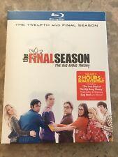 NEW Big Bang Theory Twelfth And Final Season 12 Blu-Ray Slipcover Canada SEALED