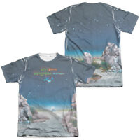 Yes Rock Band TOPOGRAPHIC OCEANS Album Art 2-Sided Print Poly Cotton T-Shirt