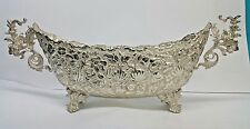 STERLING SILVER 900 HANDMADE CENTERPIECE PERSIAN DISH