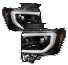 Spyder Projector Headlights - Light Bar DRL - Black #5077592 for 09-14 Ford F150