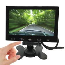 Ultra-thin 7 Inch HD TFT LCD 2 Video Input DVD VCR Car Rear View Monitor 800*480