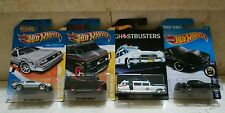 Hot Wheels Lote GHOSTBUSTERS , K.I.T.T , A TEAM VAN , BACK TO THE FUTURE