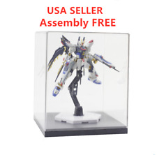 Acrylic Clear Display Case Model Show Case Box show box for gundam MG display