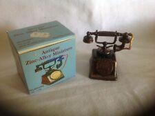Antique Zinc-Alloy Miniature Telephone Pencil Sharpener No. 1144