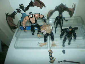 DC Direct & Collectibles FODDER & OTHERS LOT - BANE CATWOMAN MANBAT +++ ROGUES