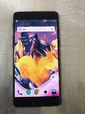OnePlus 3T -128GB -Black (Unlocked) Smartphone-DUAL SIM VERSION(Great Condition)