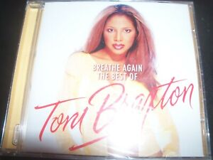Toni Braxton ‎– Breathe Again: The Best Of CD - New