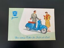 Adler Junior Roller Sales Brochure c.a. 1950