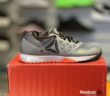 REEBOK CROSSFIT NANO 6.0 Size UK 7 US 8 Dust Grey Red Black BD1160