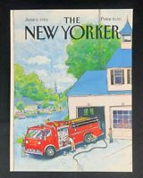 COVER ONLY ~ The New Yorker Magazine, June 2, 1986 ~ Arthur Getz