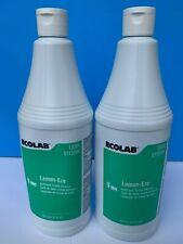 ECOLAB - Lemon-Eze Creme Cleanser - 13094 (QTY 2  Bottles Per Order)