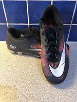 Nike Mercurial CR7 Football Boots 684843-018 UK 8 EU  42.5 US 9 Black And Flame