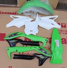 NEW 2018 Kawasaki KX450F Oem Plastic Kit Graphics Fenders Shrouds Plates KX450