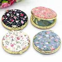 Mini Pocket Resin Mirror Portable Glass Make-up Compact Mirrors For Beauty Tools