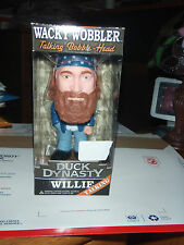 DUCK DYNASTY WACKY WOBBLER WILLIE - TALKING BOBBLEHEAD FROM HIT TV SERIES
