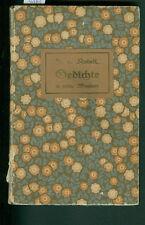 Gedichte in pfälzischer Mundart Franz von Kobell 1889 Pfälzer Pfalz Dialekt