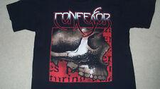 Vintage 90s CONFESSOR Doom Progressive Metal Tour T-Shirt LARGE Condemned Thrash