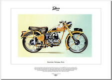 EXCELSIOR TALISMAN STT1 - Motor Cycle Fine Art Print - 250cc 2-Stroke Twin Bike