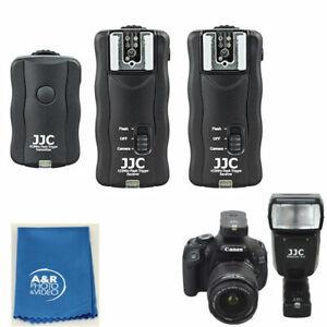 JF-U2 Wireless Remote Control & Flash Trigger Kit For Canon Nikon Sony 433MH