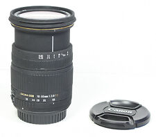 SIGMA 18-50mm EX F/2.8 Lens for Canon EOS T6i T4i T5i T6 80D SL1 70D 7D II etc