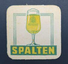 Ancien sous-bock bière SPALTEN coaster Bierdeckel 10