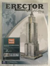 Erector Special Edition NEW Empire State Building Meccano Metal