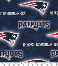 NFL NEW ENGLAND PATRIOTS - DOT 100% Cotton Fabric 1/4 yd, 9