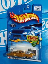 Hot Wheels 2002 Mainline Release #123 Evil Twin Gold w/ Gold WSPs Malaysia Base