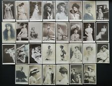 Edwardian Theatre Music Hall Performers Real Photo Postcards – Sold Individually