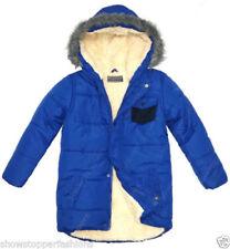 Cappotti e giacche blu in poliestere con alta visibilità per bambini dai 2 ai 16 anni