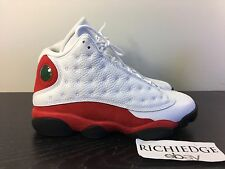 Nike Air Jordan XIII 13 WHITE RED BULLS 2017 SIZE 8 VVVNDS 100% AUTHENTIC
