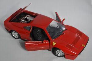 Polistil 1:16 scale Die Cast Ferrari GTO Red
