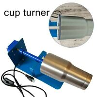 Cup Turner Rotisserie Spinner Tumbler Machine For Epoxy Supplies Crafts Tumblers