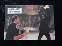 Live and Let Die lobby card # 4 -  Roger Moore, James Bond 007