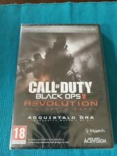 Call of Duty Black Ops II Revolution Pack Maps Pc Sealed Italian Edition