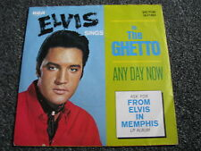 Elvis Presley-In the Ghetto 7 PS-Victor 26.11005-RCA-Black Label-MINT