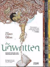 Unwritten by Mike Cary & Peter Gross TPBs Volumes 1-5 DC Vertigo Comics