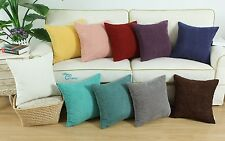 Polyester Corduroy Corn Striped Design Cushion Covers Pillows Shell 45cm X 45cm
