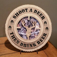 Shoot A Deer Then Drink Beer Wall Tribute