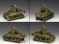 "KING AND COUNTRY M3A3 ""Stuart"" Light Tank WW2 DD223"