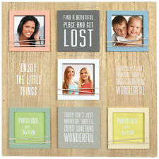 Wooden Rustic Multi-Picture Frames