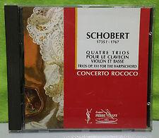 Quatre Trios Pour Le Clavecin Violon et Basse Trios Op.XVI for the Harpsichord