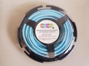 Câble Ethernet RJ45 Bleu 5 m UP TQ 10 GIGA Cordon Professionnel 6A TIA/EIA