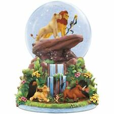 Disney Bradford Exchange Lion King Musical Glitter Globe - Simba Nala Rafiki