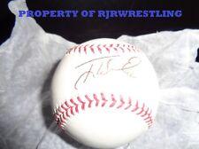 NY YANKEES TONY WOMACK SIGNED OFFICIAL MLB BASEBALL w/COA PIRATES CARDINALS