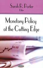 Monetary Policy at the Cutting Edge by Nova Science Publishers Inc (Hardback,...