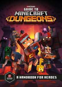 Guide to Minecraft Dungeons, AB, Mojang, New, Hardcover Book