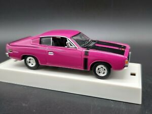 Trax TR11F 1971 Valiant Charger R/T Magneta with Black Stripes 1:43 Scale car